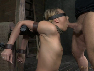 Aj Applegate Chained And Blinded Facefucked