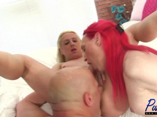Real life girlfriends add a lucky guy Into the mix