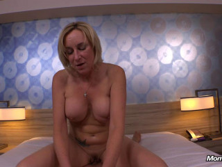 Hot blonde a porno for ex husband