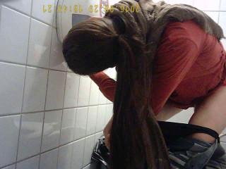 Hidden Camera In The Student Toilet 6