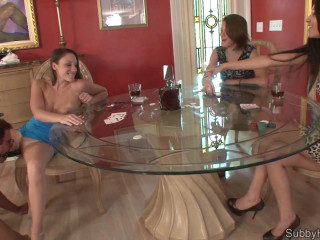 Poker Face - 3 Chicks 1 Cuck - Mini Movie