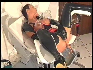 Clinic Sex and bizarre rubber fetish 23