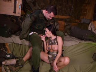 Sexy Soldier Domination In The Bunker - Alyssia Kent