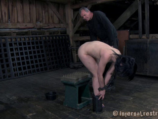 infernal restraints katharine cane - hot webbing - Extreme, Bondage, Caning