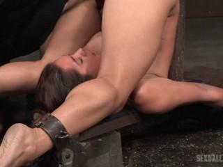 SexuallyBroken - Mar 02, 2016 - Big boobed Jean Michaels folded in half in strict piledriver