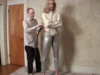 Ariel Anderssen Straitjacketed in Silver