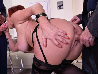 Veronica Avluv - Sexy Milf DP'D By Her Customers FullHD 1080p