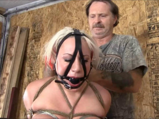 Introducing Scarlett DeMitro In Her First Real Hogtie