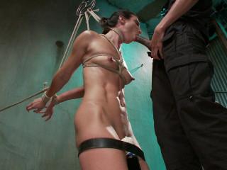Wenona Plowed Stiff In Brutish Restrain bondage