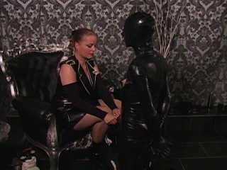 Latex Rubber - Bratty Cowboy - Domination HD