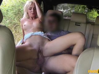 Katy Rose - Brief Miniskirt Minx Rails Prick in Cab (2016)