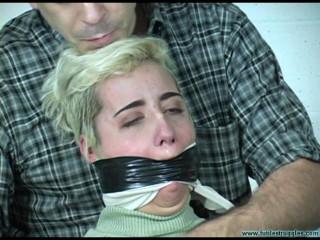 Cruel Gag Interrogation for Violet - Part 4