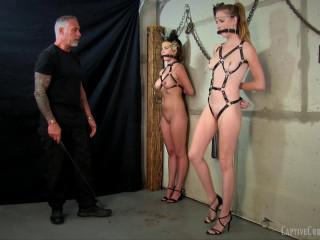 Ashley Lane & Chrissy Marie - Ponygirls In Training