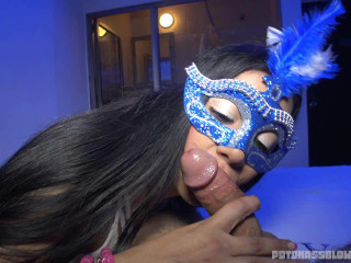 big ass masked amateur slut blowing dick part 17