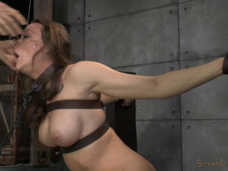 Chanel Preston sexually disgraced, tag teamed by fuck-stick and brutish oral pleasure
