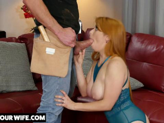 Your Wife Penny Pax fucks the Construction worker and You see all