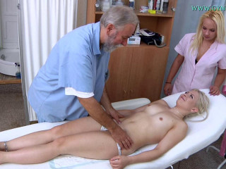 Anna Rey Gynecology Exam