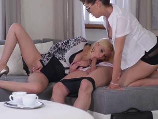 Vid pornography scopata a tre con Bijou e Donna Bell