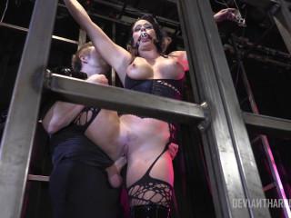 Holly Heart harsh anal BDSM