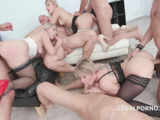 School Gangbang Story With Double Anal  For Selvaggia, Dee Williams & Lisey Sweet