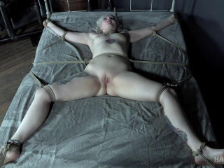 Arielle spends a day tied to her bed!