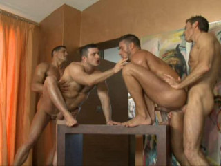 Kinky orgy on the Costa Brava