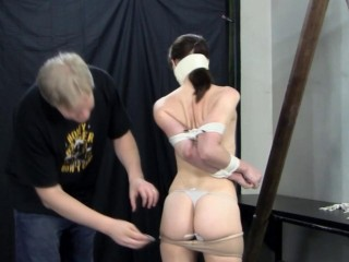 Rock-hard Restrain bondage