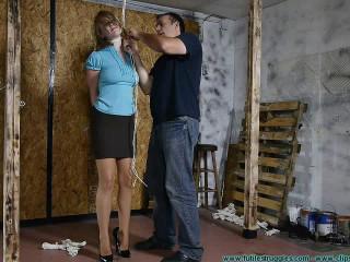 Allegra's Test 1part - BDSM, Humiliation, Torment HD 720p