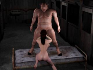 Crimson Nymph vs. Monster pig man justice