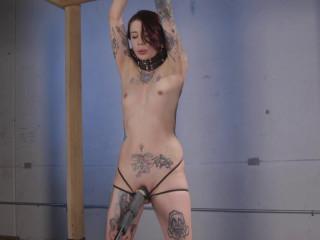 Krysta Kaos - Krysta Standing and Spread - Full HD 1080p