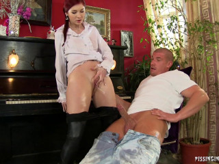 Naughty Action With Hottie In Music Room