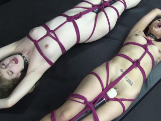 Penny and Dolly Restrain bondage
