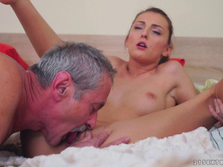 Katy Rose - Senior Cock Meets Young Puss (2017)