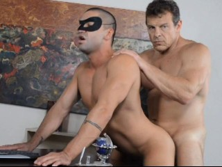 Batman and Robin An All-Male XXX Parody