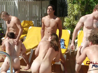 Hungry Jock Orgy - Part 1