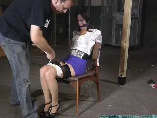 Cruel Gag after Gag for Litterbug McBitch - Extreme, Bondage, Caning