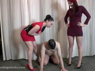 Ballbustingchicks - Sophia - Humiliated And Punished
