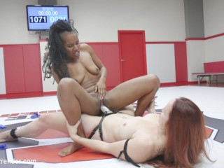 Bratty Orgasmic Rookie is annihilated on the Mats