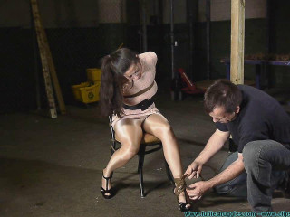 Summer Hung by Her Elbows - Extreme, Bondage, Caning
