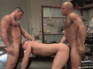 Auto Erotic, Part 1 - Brian Bonds, Sean Zevran, Derek Atlas