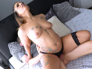 Kiara Strong - Feisty Spanish brunette rides cock