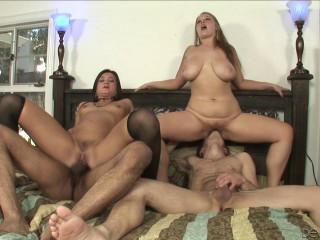 Cece Stone, Sierra Skye, Mike Bonez and David Salami