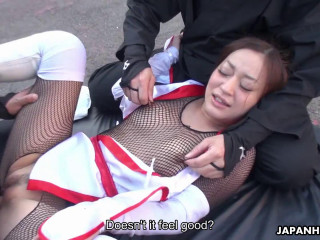 Maria Ono fucked by two ninjas as a prisoner FullHD 1080p
