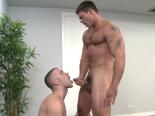 Hunky & muscular