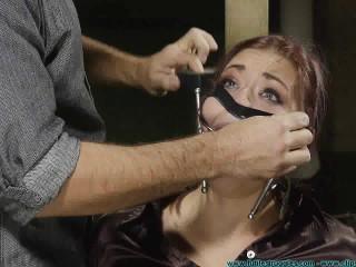 Riley is Captured Belt Whipped and Hogtied 2 part - Extreme, Bondage, Caning