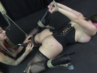 Fragile Slave Iona Bound Spread and Vibed to Orgasm