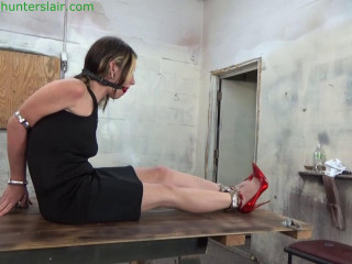 HunterSlair - Lexi Lane - Her big tits choked in steel