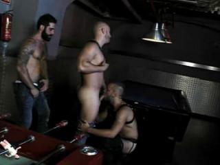 David, Tony And Yenier Like Fetish Ease off