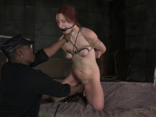 Sexy Redhead Violet Monroe Strictly Bound