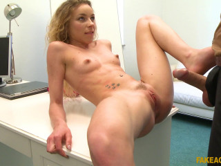 Angel Emily - Sexy model in perfect casting fuck FullHD 1080p